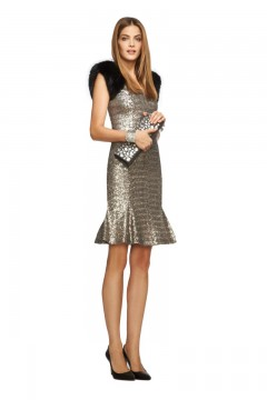 L'Wren Scott Collection Sequin Wiggle Dress at Banana Republic, $205.00