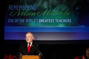 Remembering Nelson Mandela.  (photo: Vito Amati)