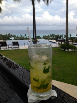 Find some time to enjoy a mojito.