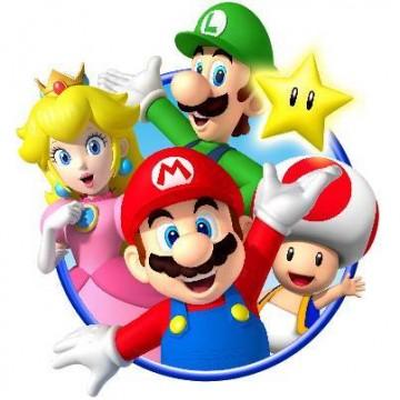 Nintendo Mario Characters