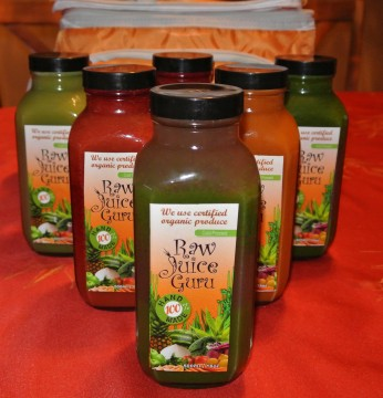 Raw Juice Guru - Photo Credit: Sonya D.