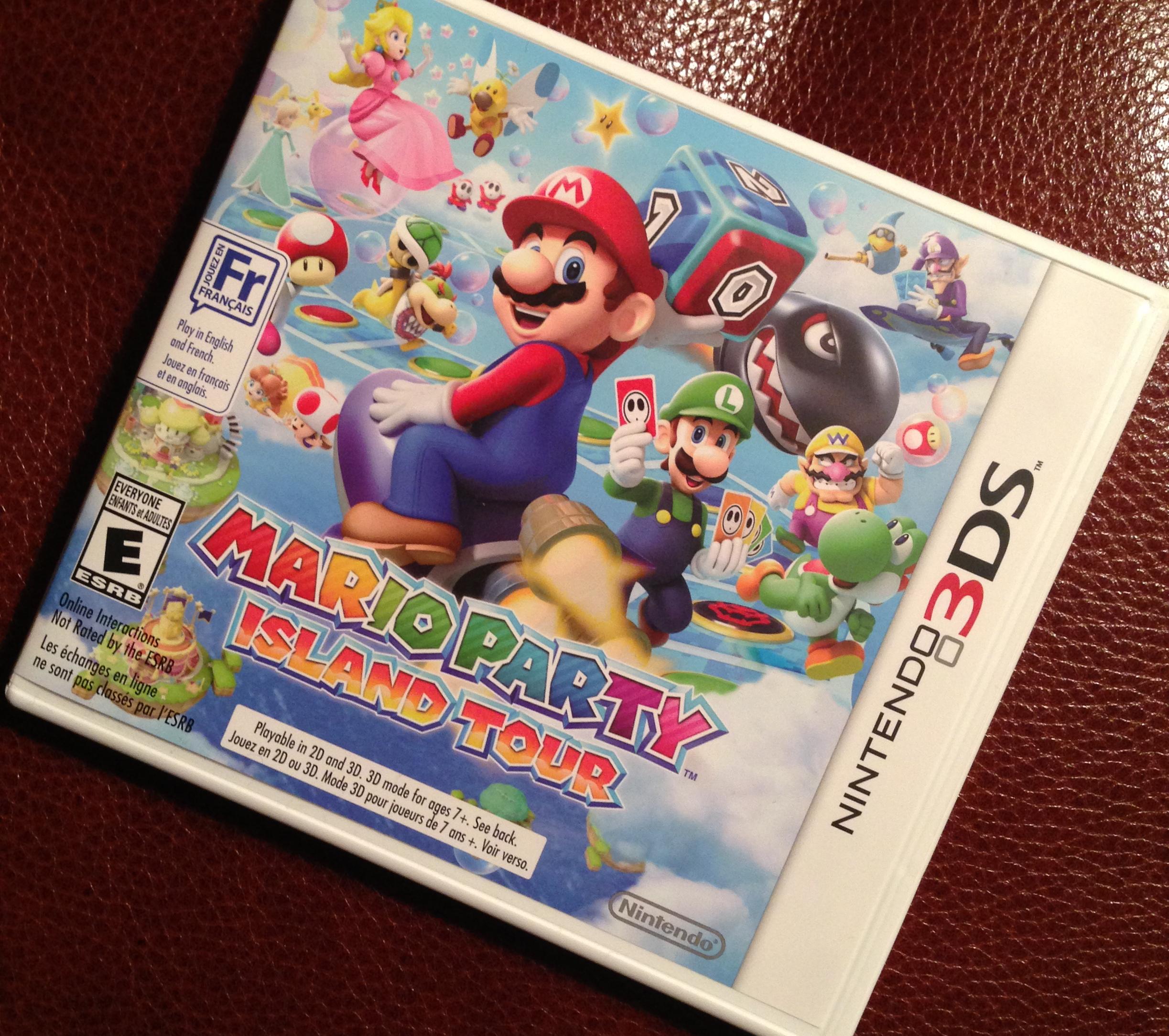 Kid Reviewer: Nintendo Mario Party: Island Tour
