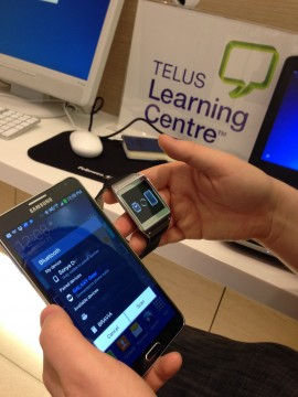 Samsung and Telus Learning Centre