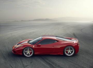 Ferrari 458 Speciale (photo courtesy of the Canadian International Autoshow)