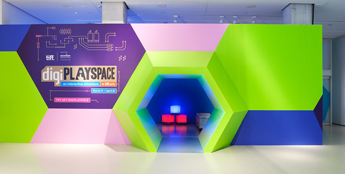 Photo Courtesy of TIFF - digiPLAYSPACE