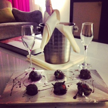 Gansevoort Park Avenue knows how to do romance!