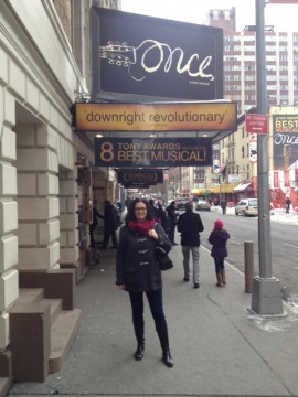 My new fave - Once on Broadway!
