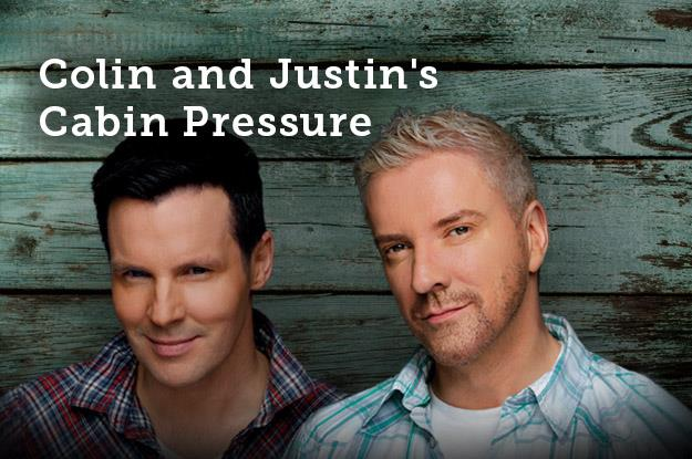 Colin and Justin chats about their rustic escape to cottage country!