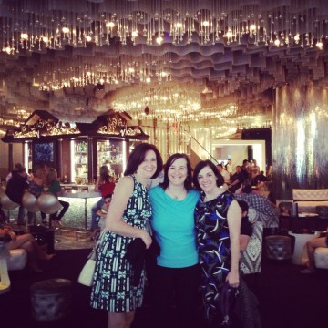 The author on a recent girls getaway to Las Vegas.