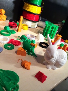 3D Printing at digiPlaySpace, 2014