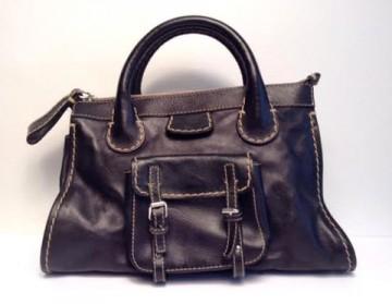 Chloe Black Edith Bag