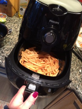 Philips Airfryer. Photo Credit: Sonya D.