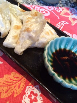 Pork Dumplings. Photo Credit; Sonya D.