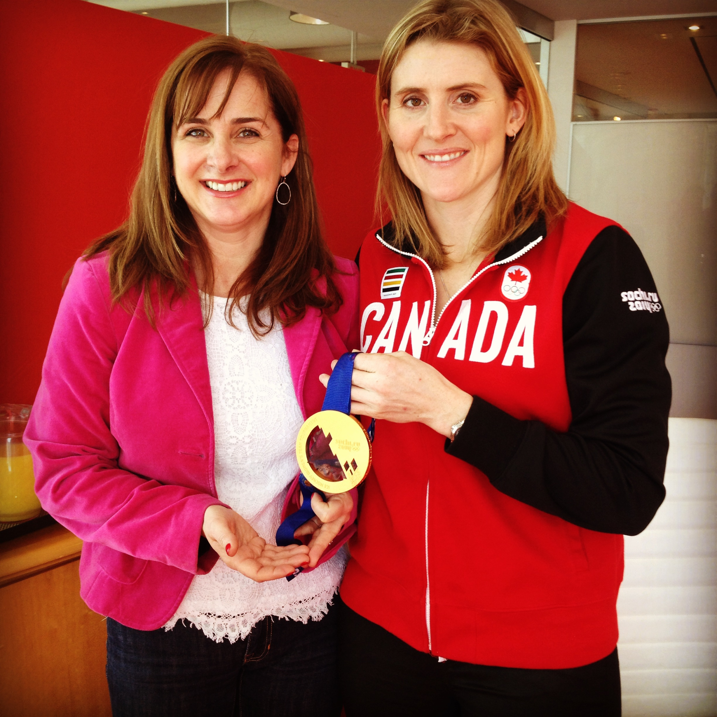 Hayley Wickenheiser Talks Sports, Being A Role Model and Healthy Snacking