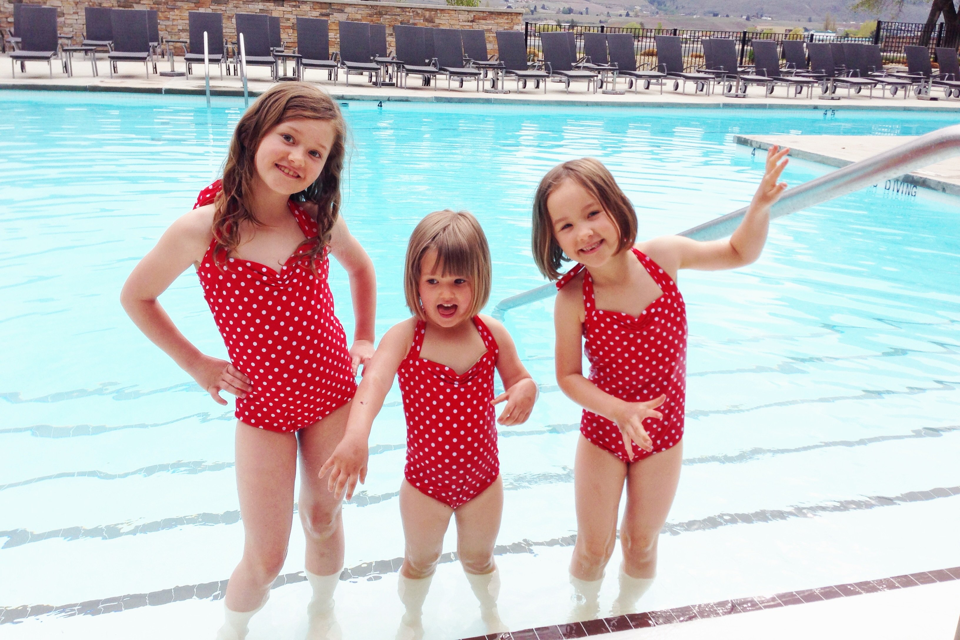 Retro Bathing Suits For Kids