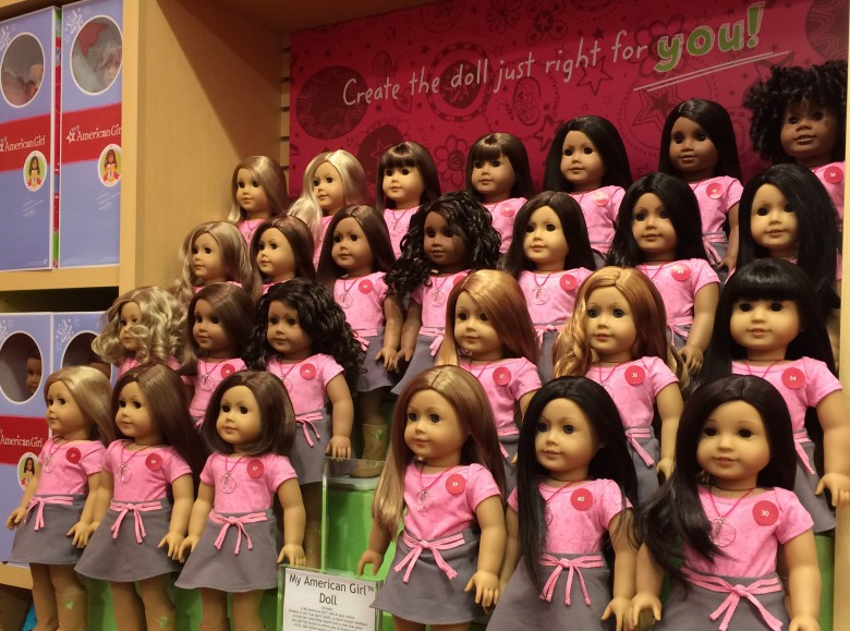 American Girl at Indigo Yorkdale. Photo credit: Sonya D.