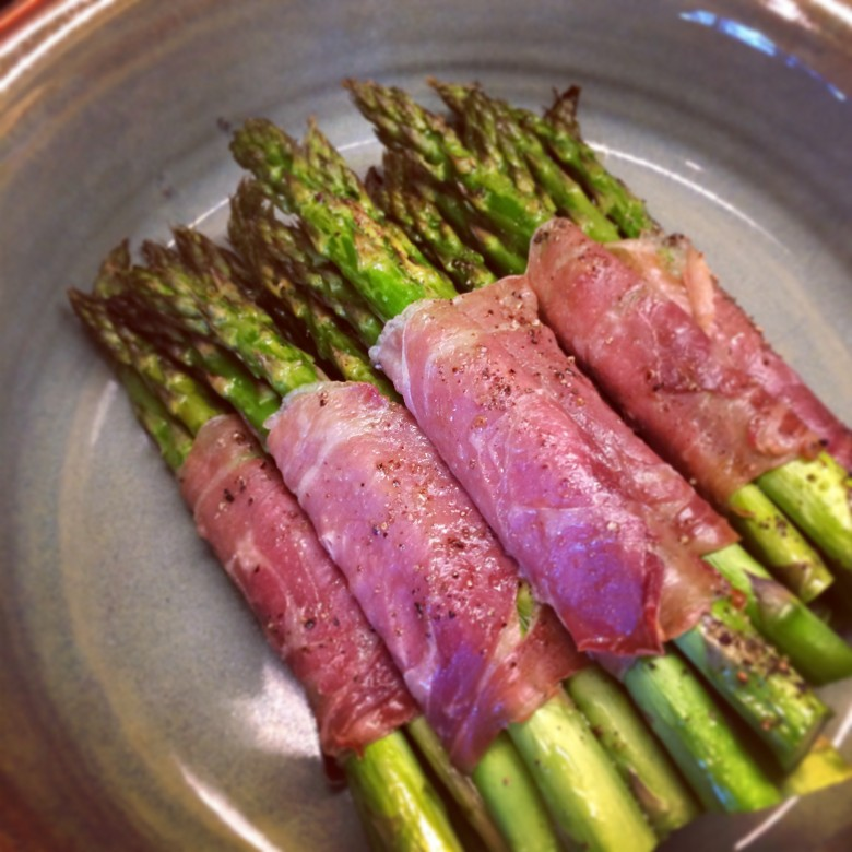 wrapped asparagus bundles roasted prosciutto wrapped asparagus bundles ...