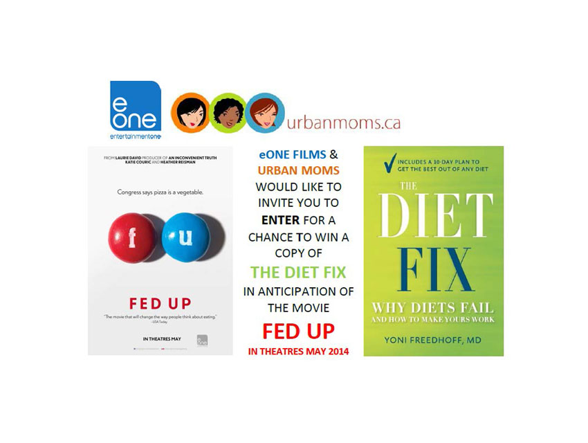 """Enter To Win 1 Of 10 Copies Of """"The Diet Fix"""""""