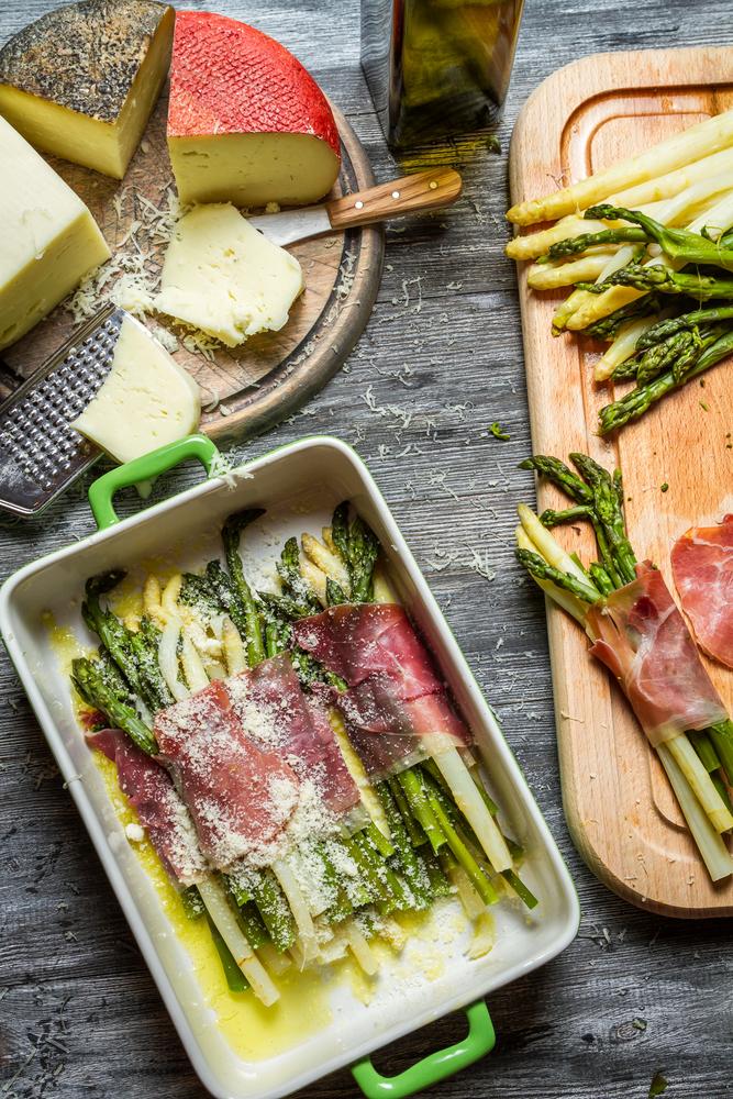 UrbanKitchen: Asparagus & Prosciutto Bundles