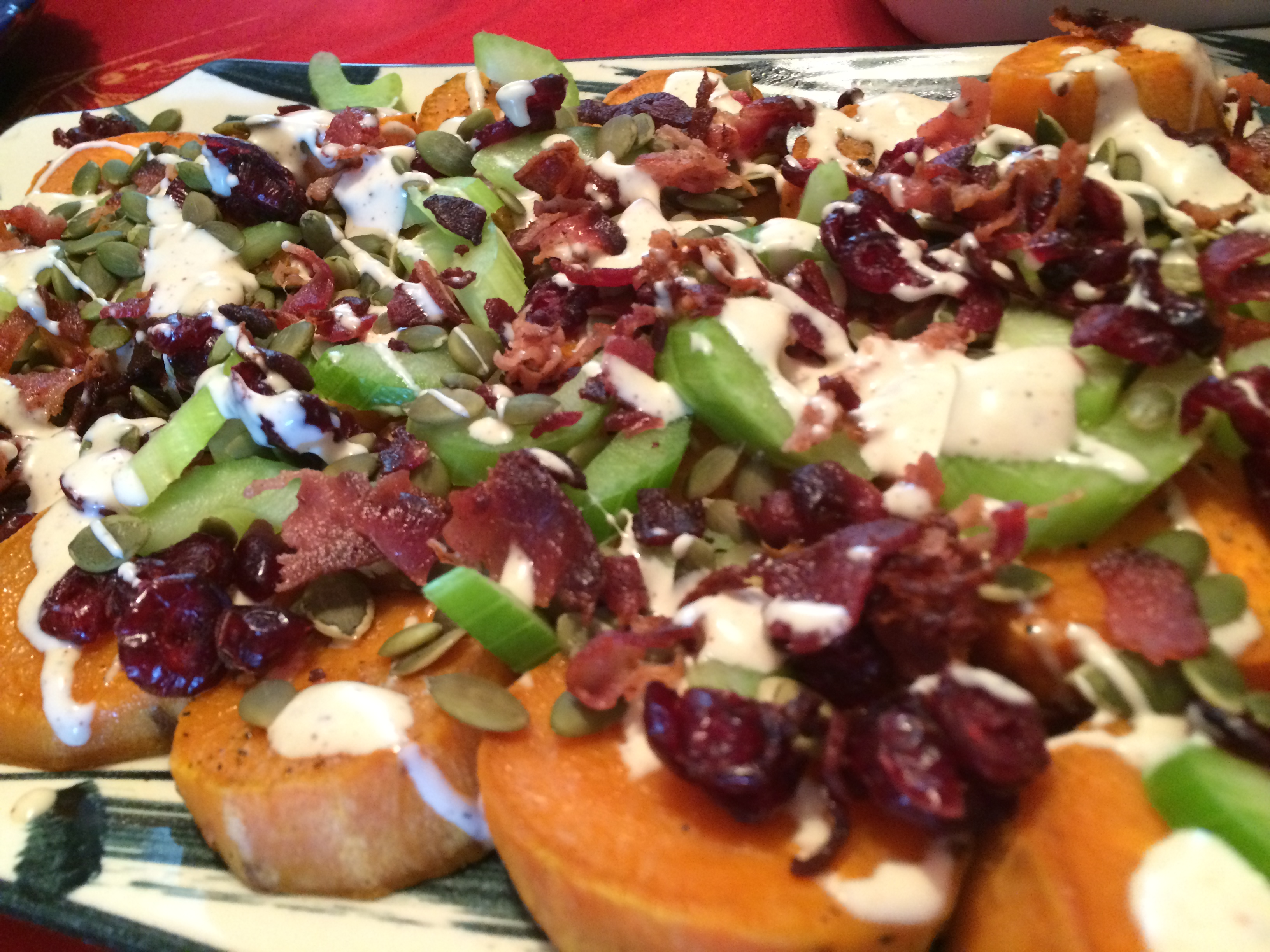 Tips For Easy Summer Entertaining & A Must Try Sweet Potato Salad Recipe