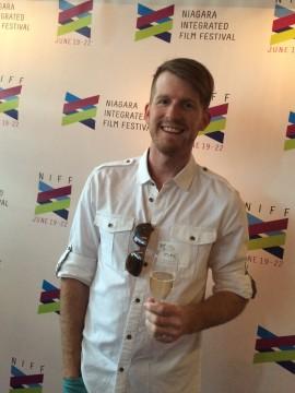 Filmmaker Mike Enns. NIFF