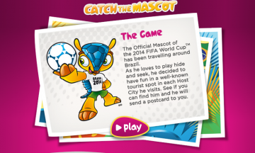 Fuleco Official Mascot for FIFA 2014 World Cup
