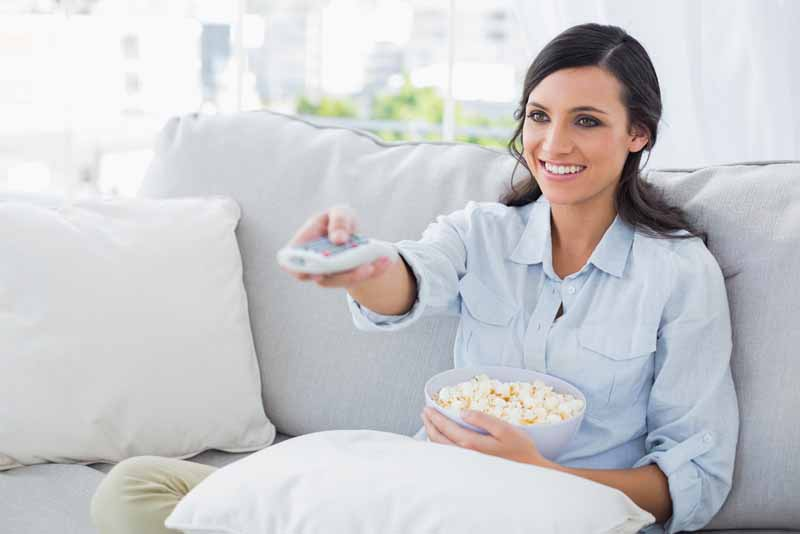 Me Time: Binging On TV While Snacking On Maple Popcorn