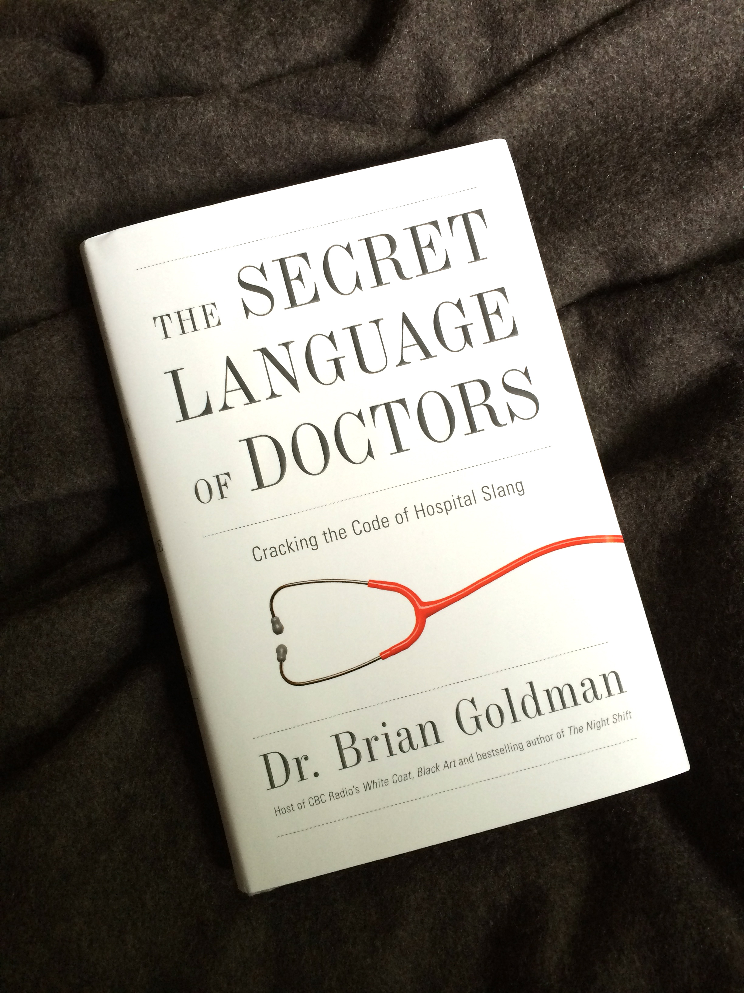Book Review: The Secret Language of Doctors
