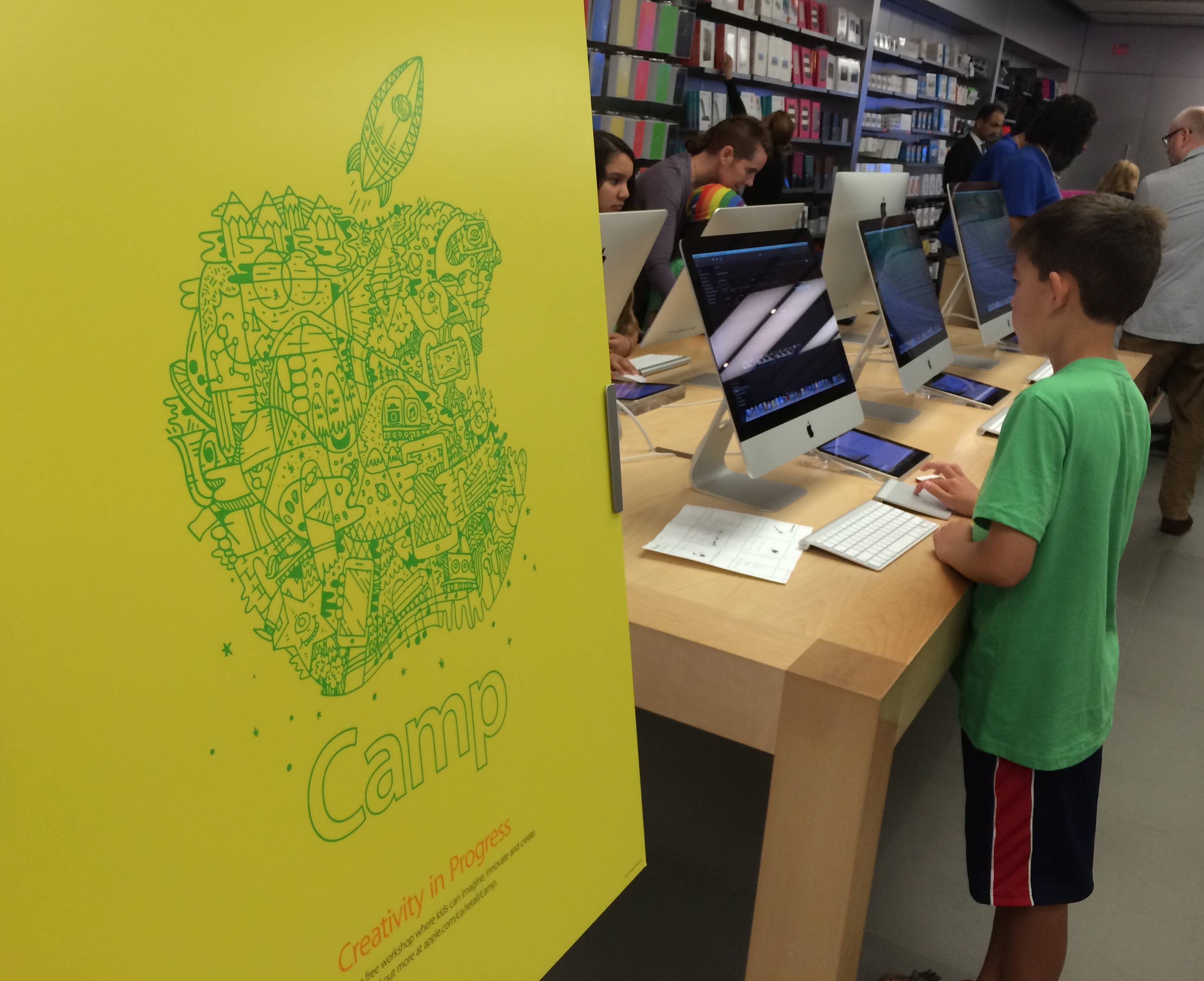 Look What I Made! Free Summer Camp Experience With Apple