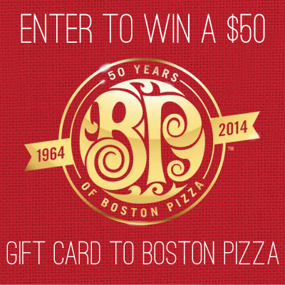 Celebrate This Summer With Boston Pizza And Win!