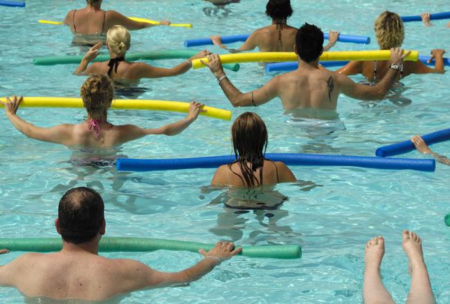 Aqua Fitness: Get In The Pool!