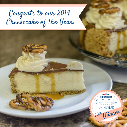 Cheesecake of the Year 2014