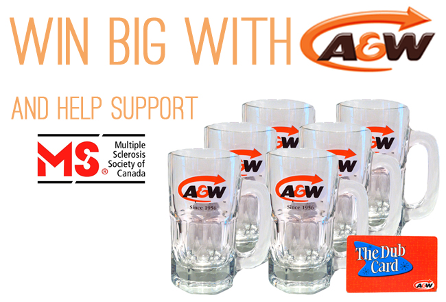 Enter For A Chance To Win A Prize Pack From A&W
