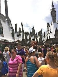 Hogsmeade Crowds