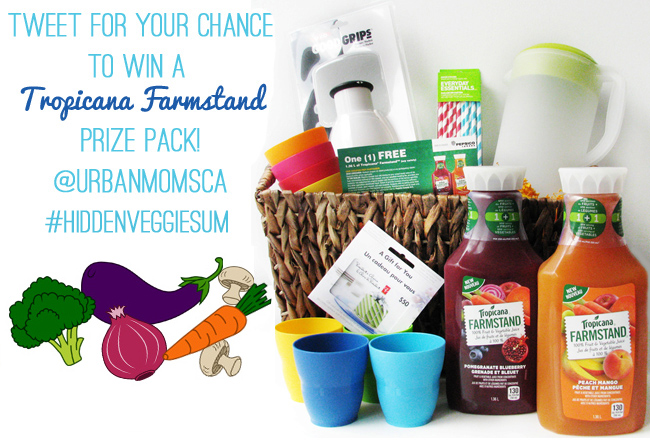 Get Tweeting For A Chance To Win A Tropicana Farmstand Prize Pack!