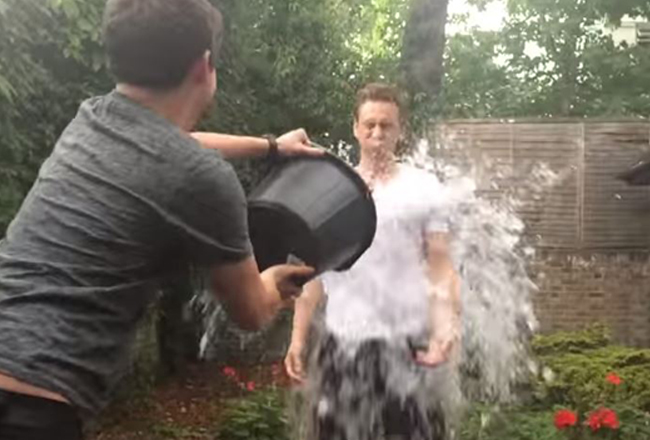Our Ten Favourite Celeb Ice Bucket Challenges