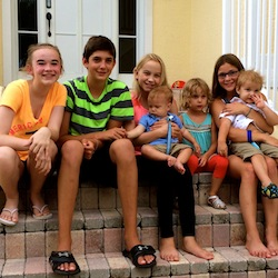 Cousins and second cousins.