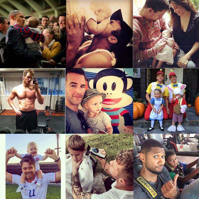 10 Hottest Celeb Dads On Instagram