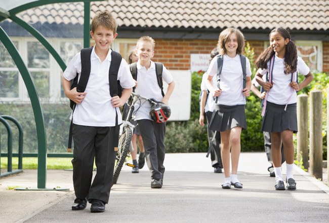 Helping Your Kids Safely Commute To School Alone
