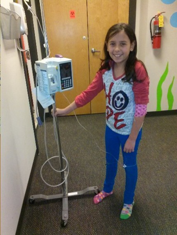 11-Year-Old Invents 'Chemo Backpack' To Help Kids Battling Cancer