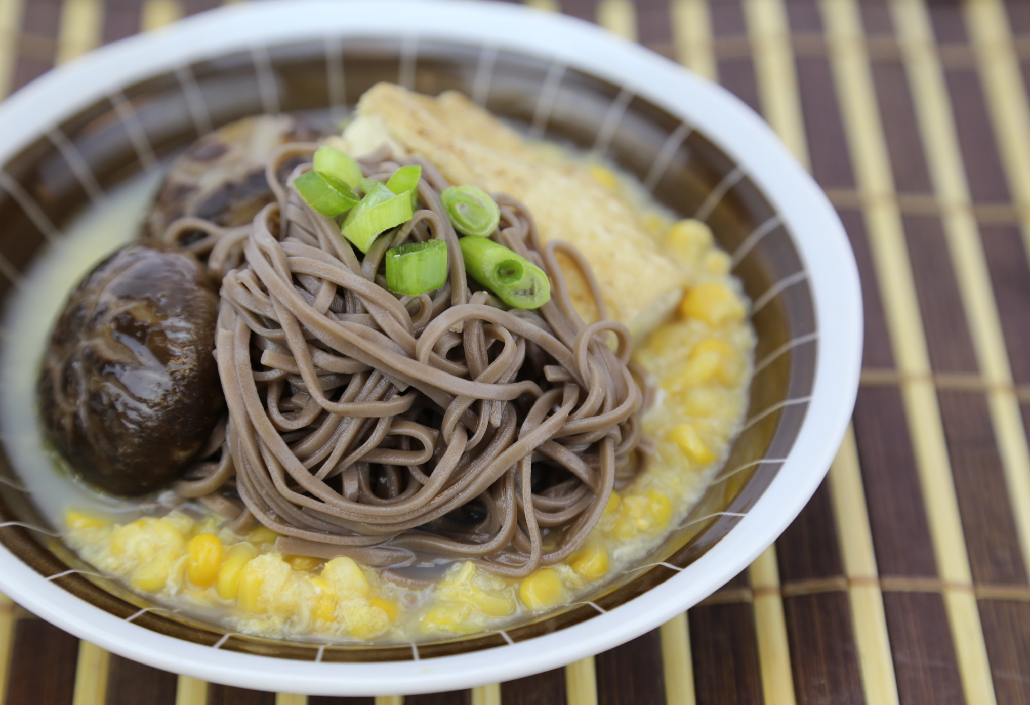 UrbanKitchen: Perfect Asian Soba Noodle Bowl