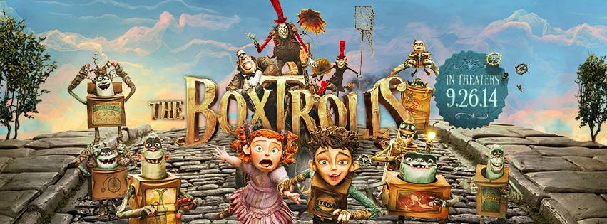Off With The Box! Here Comes The Boxtrolls!