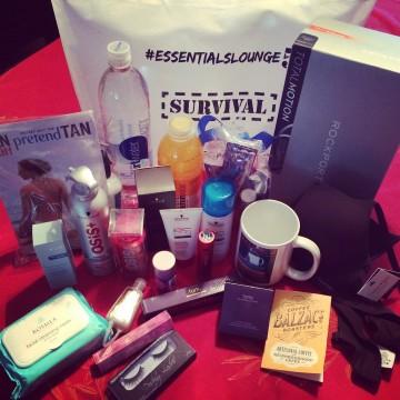 Essentials Lounge Survival Kit 2014