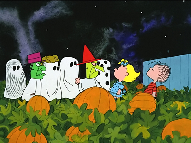 It's the Great Pumpkin, Charlie Brown!