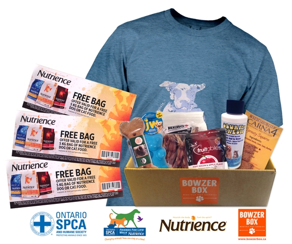 Enter To Win A Pet Friendly Prize Pack & Support The OSPCA