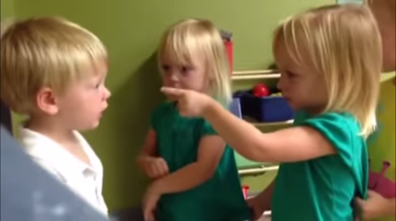 Toddlers Debate The Weather And It's The Cutest Fight Ever