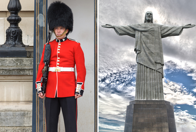 english guard and christ the redeemer