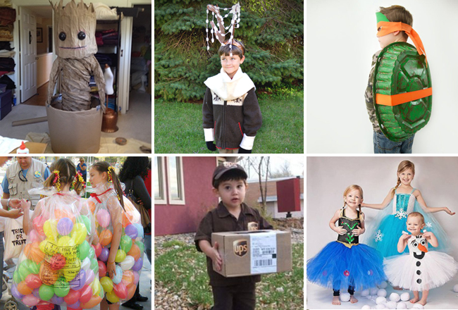 diy halloween costume ideas for kids - Child Halloween Costumes Homemade