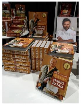 Mario Batali. Delicious Food Show 2014.