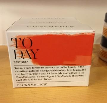 Consonant Soap for Causemetics